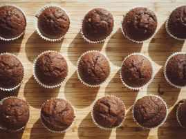 food muffins bake