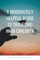 A Moderately Helpful Guide to Traveling with Children